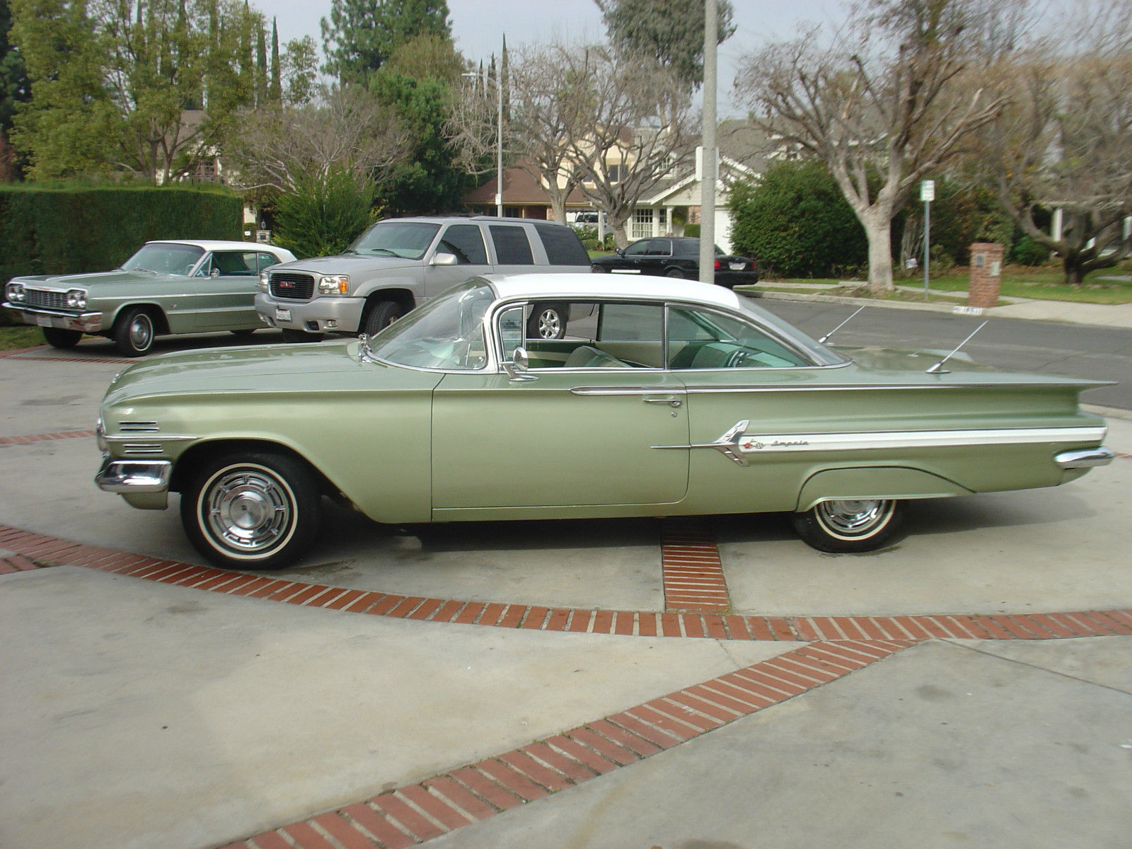 1960 Chevy Impala Coupe Mint Green Ac Car 1958 1959 1960 1961 1962