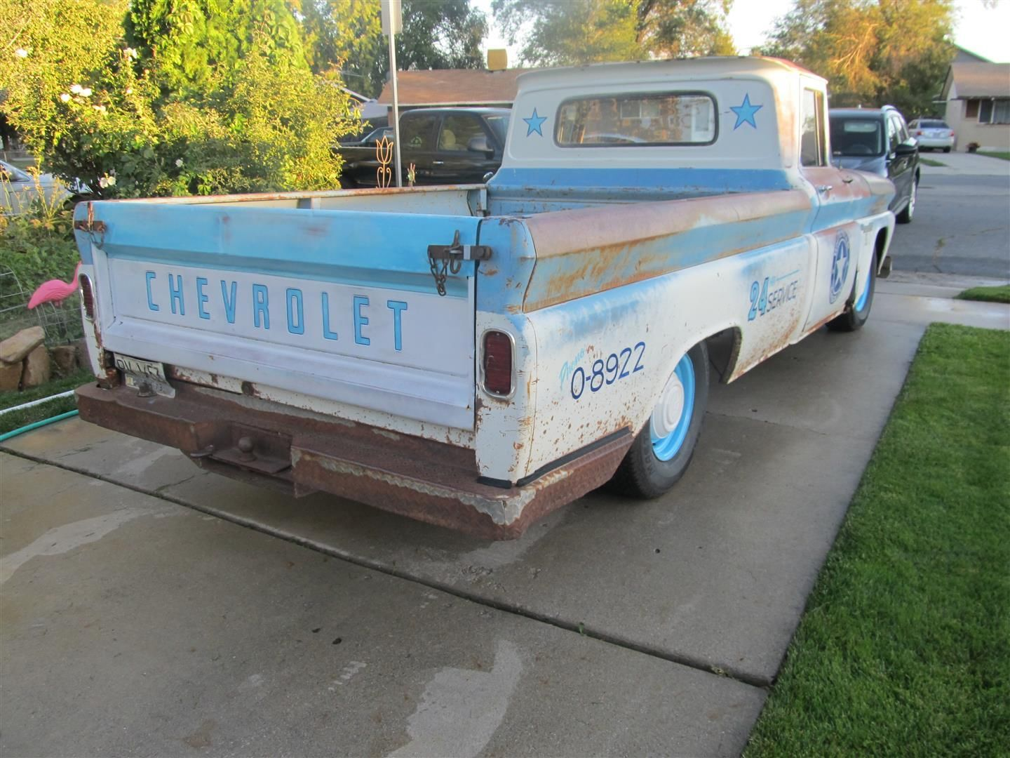 1960 chevy shop truck rat rod hot rod c10 apache patina 2wd 1 2 ton for sale in american. Black Bedroom Furniture Sets. Home Design Ideas