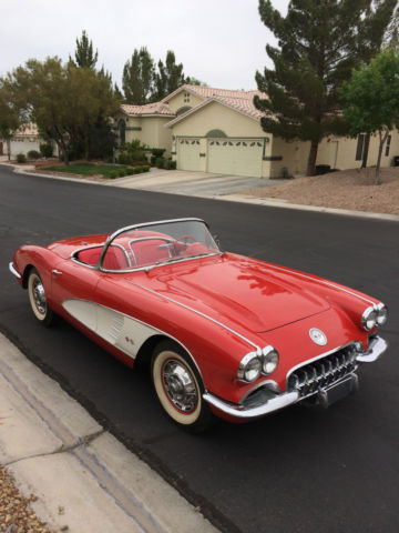 1960 Corvette Original 1959 1958 1957 1956 1955 1954 1953