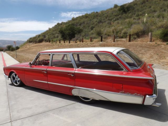 1960 Ford Country Sedan Station Wagon Wow No Reserve