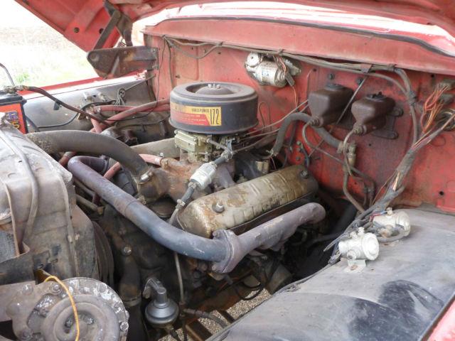 1960 FORD F600 FIRE TRUCK PUMP TRUCK 8,900 ORIGINAL MILES ...