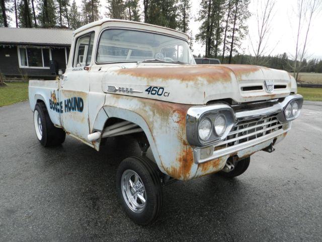 1960 Ford Gasser  Rat Rod  Hot Rod Pickup