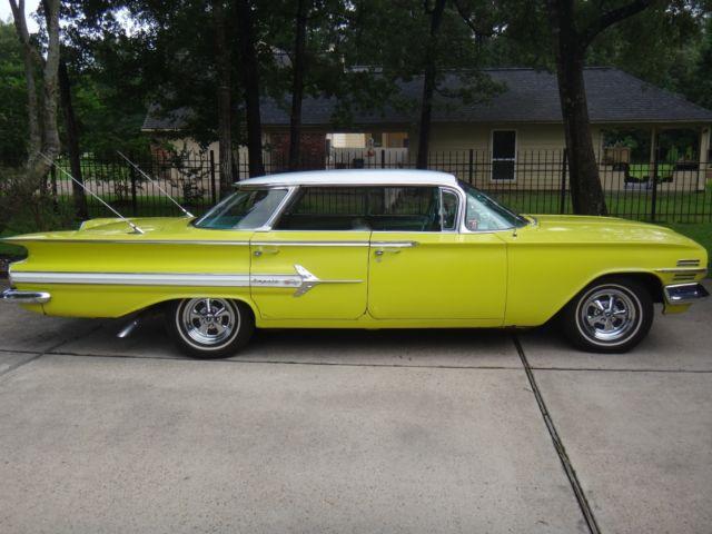 1960 Impala Sport Sedan 4 Door Hardtop Low Reserve