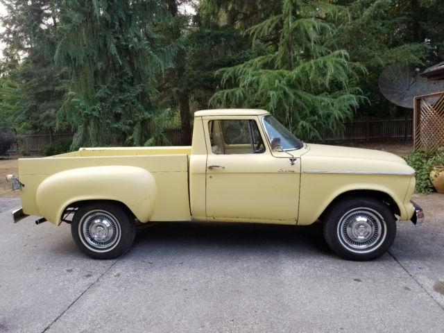 1960 Studebaker Champ Short Bed Vintage Truck Stored