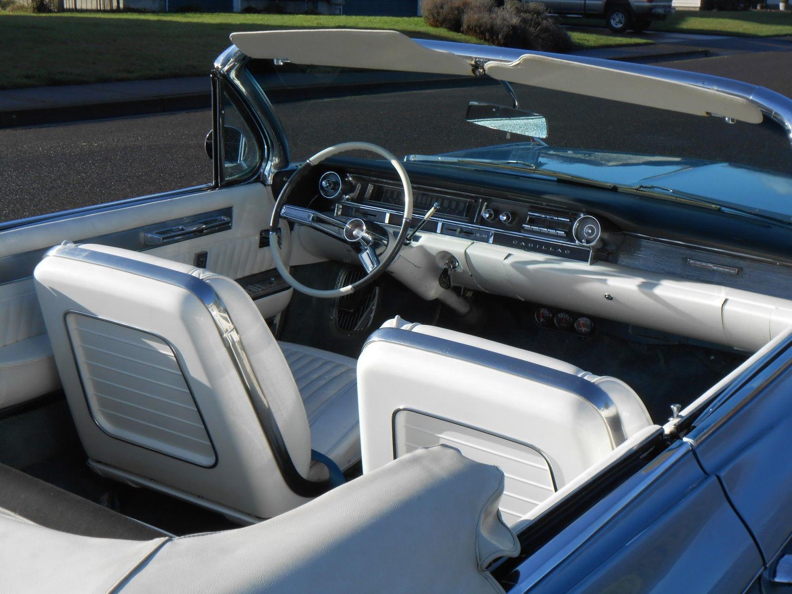 1961 Cadillac Eldo Biarritz Convertible Restoredrare Bucket Seats El Dorado Seatslow Reserve