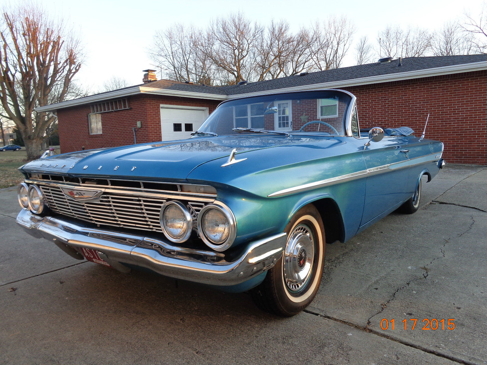 1961 Chevrolet Impala Convertible Restored