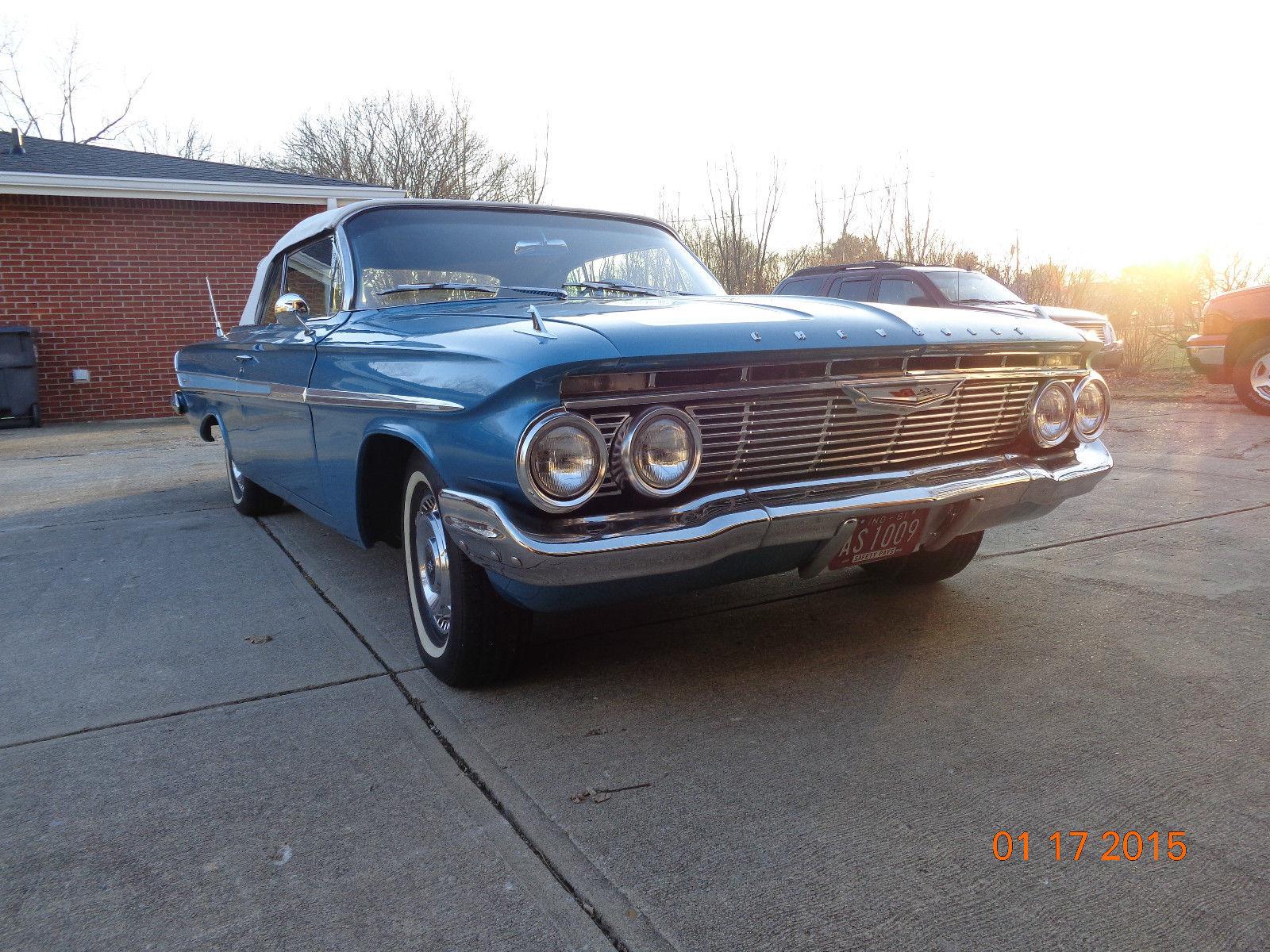 1961 Chevrolet Impala Convertible Restored