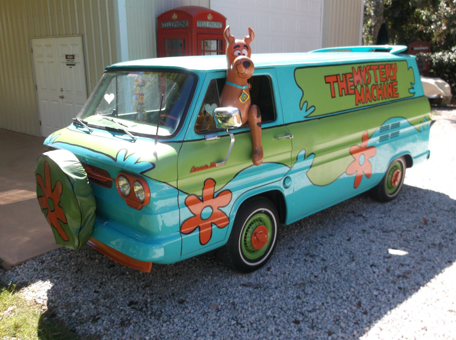 1961 chevy corvair 95 van scooby doo mystery machine rust free show car. Black Bedroom Furniture Sets. Home Design Ideas