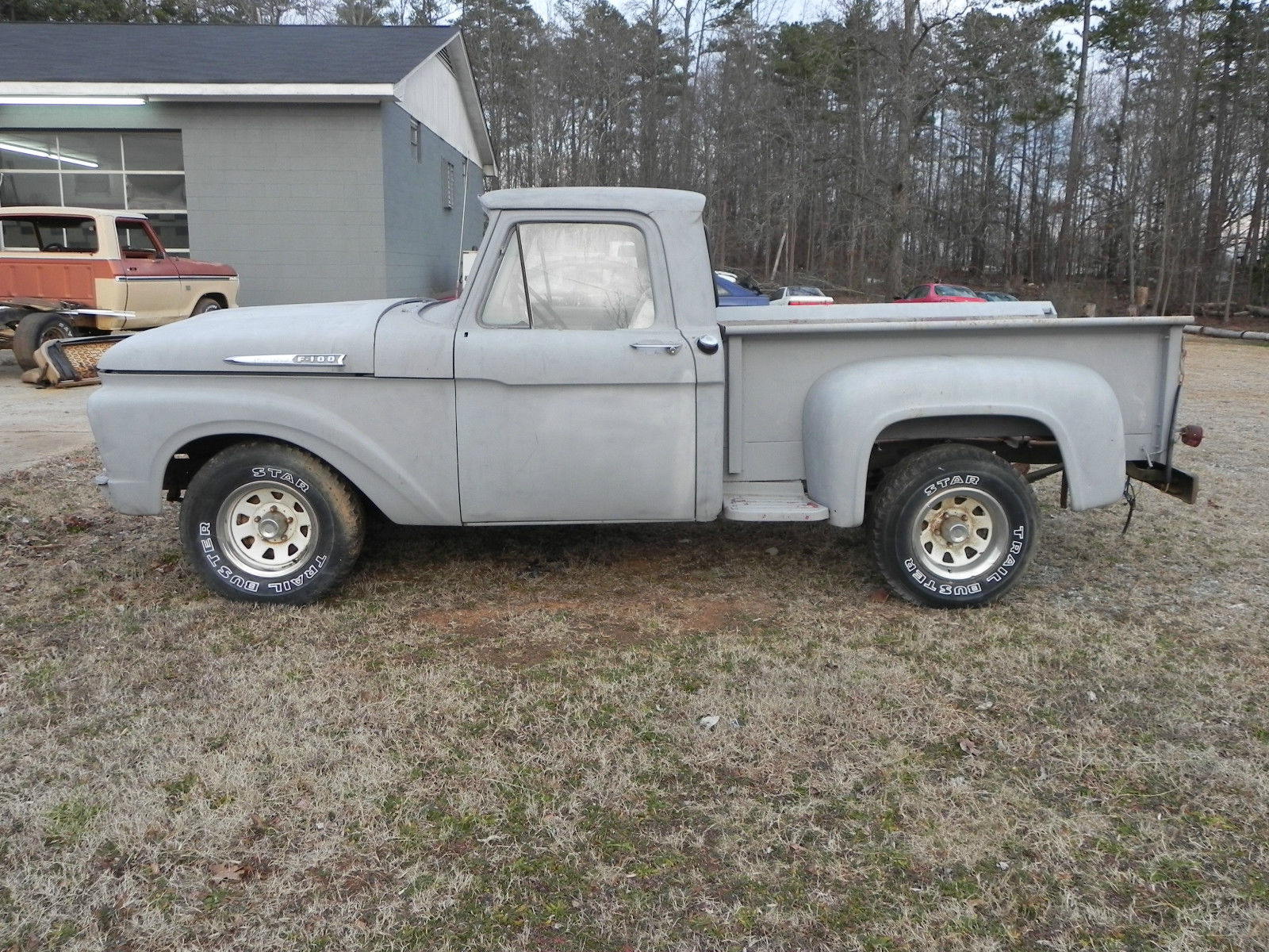 1961 Ford F100 v8 292 project rat rod stepside for sale in Blacksburg,  South Carolina, United States