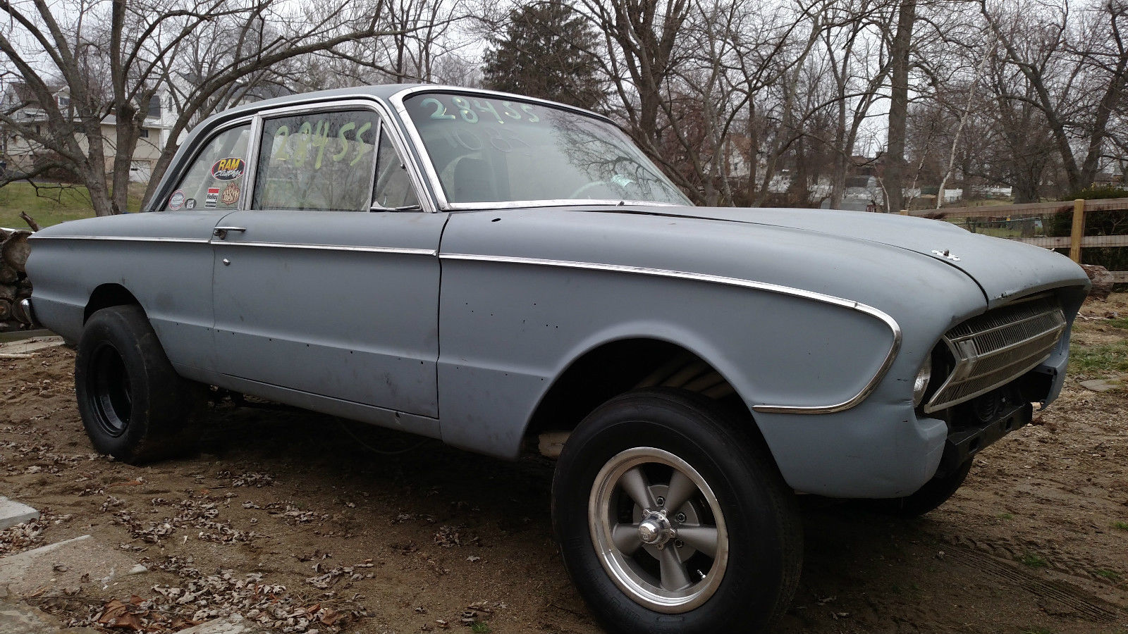 1961 Ford Falcon Gasser Rolling Chassis