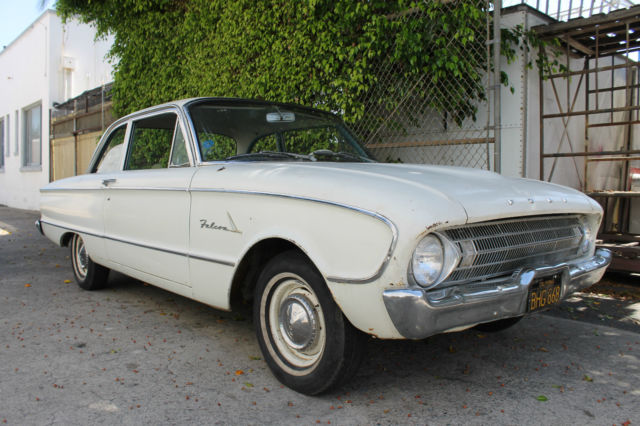 52c0e0fd 1961 Ford Falcon Six Cylinder with Automatic Transmission California ...