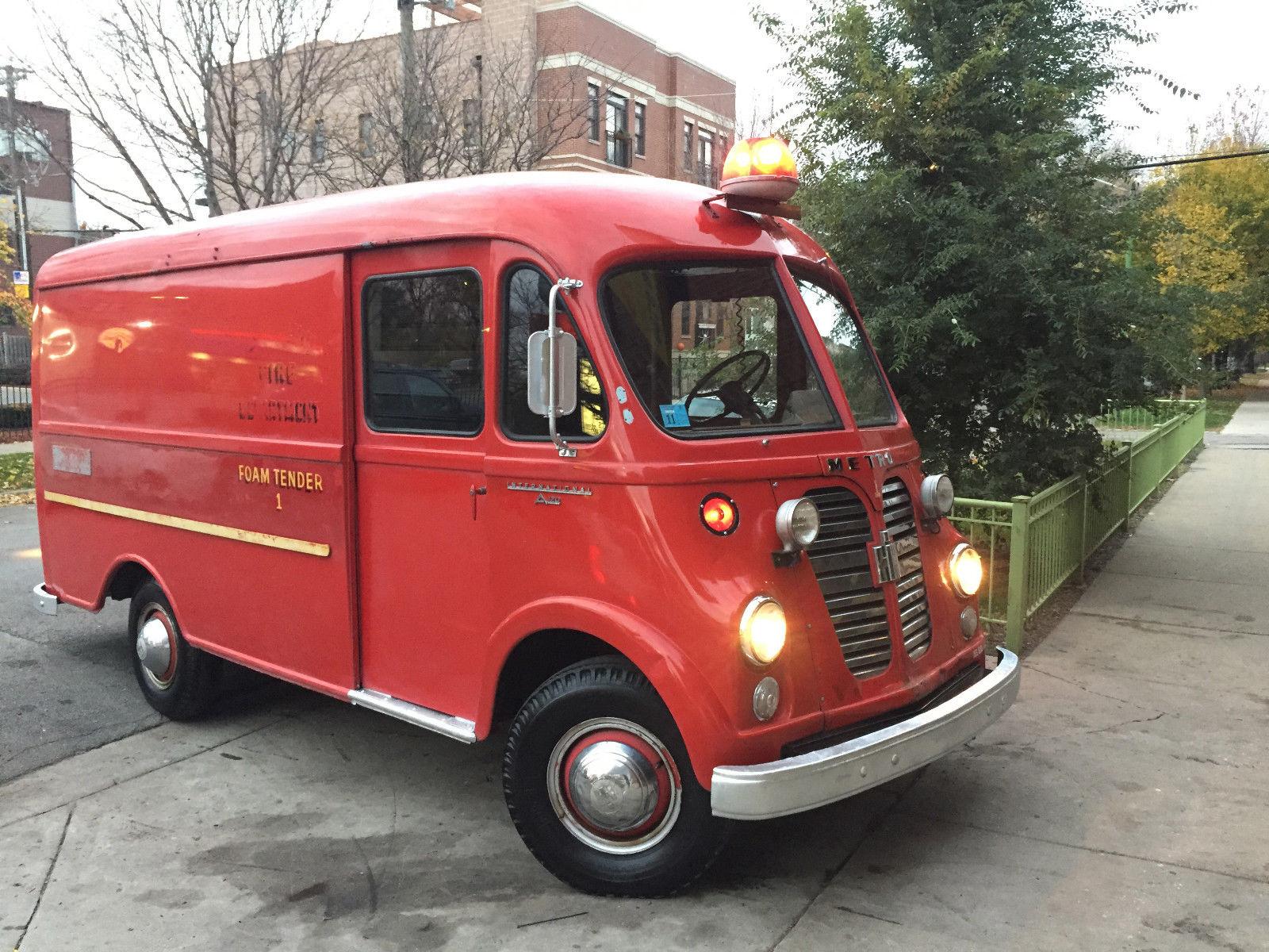 e72ba00398 1961 International Harvester Metro - A-120 Step Van - Fire Truck - Rare!