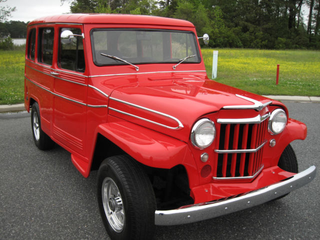 Best Overland Vehicles >> 1961 Willys-Overland Jeep Wagon