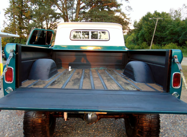 1962 C10 4X4 TRUCK FRAME OFF 454 ROLLER BIG BLOCK
