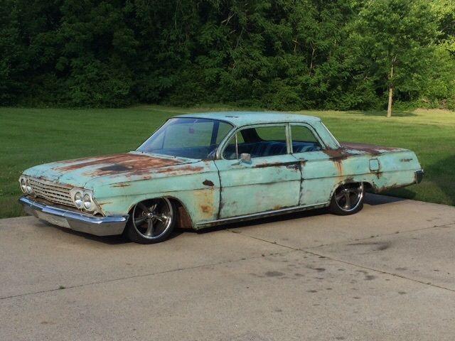 1962 Chevrolet Biscayne Quot Air Ride Quot Quot Patina Quot Quot Hot Rod Quot
