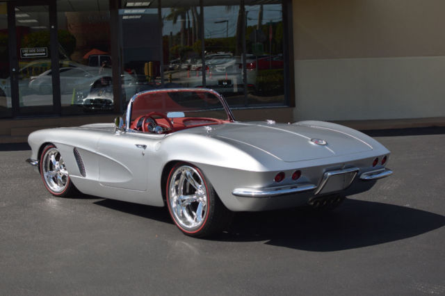 1962 chevrolet corvette restomod 500 hp auto wilwoodbrakes 18. Black Bedroom Furniture Sets. Home Design Ideas