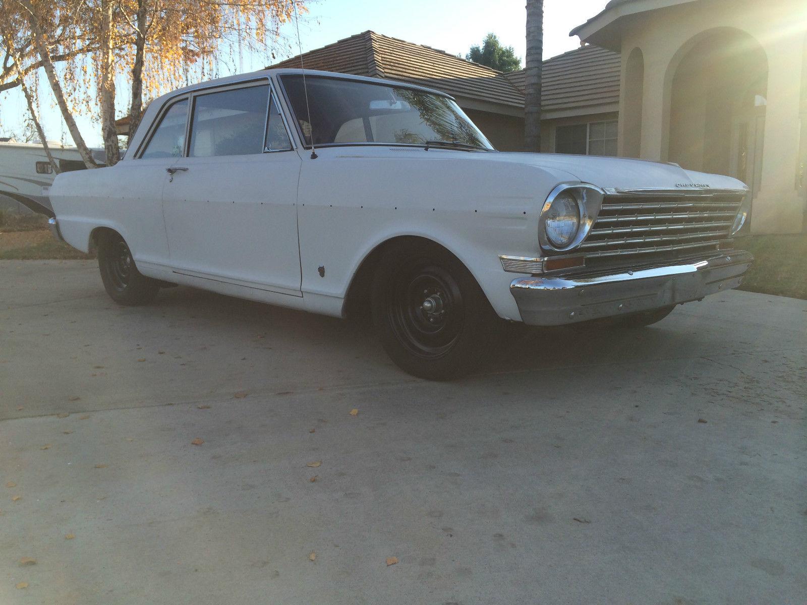 1962 Chevrolet Nova Chevy Ii 300 2door Sedan