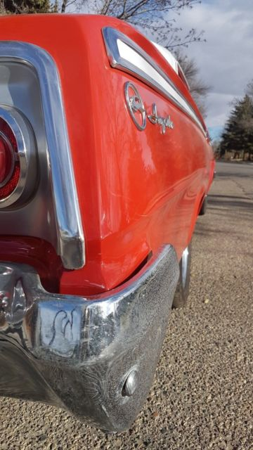 1962 Chevy Impala 2 Door With 409 Dual Quads Auto Rat Rod