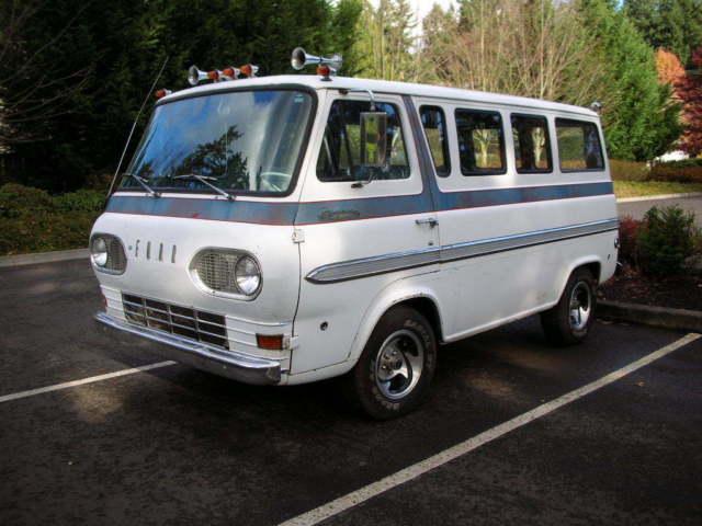 1962 Ford Econoline Window Van