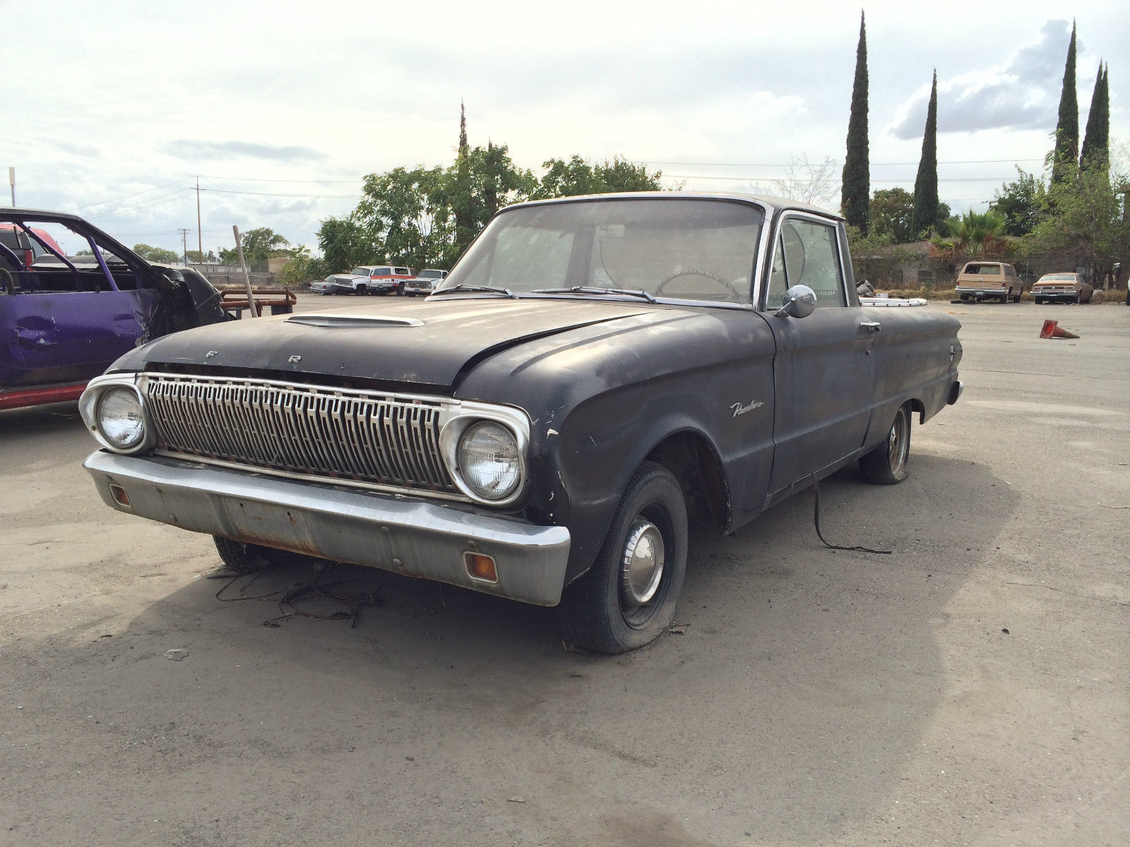 1962 ford falcon ranchero pickup two door