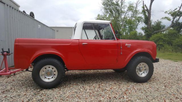 1962 International Harvester Scout 80 Half Cab 4x4 Rust Free Drop Top