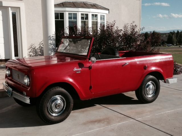 1962 International Scout 80 For Sale In Riverton Wyoming United States