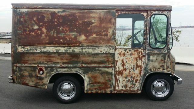 1962 jeep fj3a fleetvan willys patina rat rod mail truck postal van hotrod. Black Bedroom Furniture Sets. Home Design Ideas