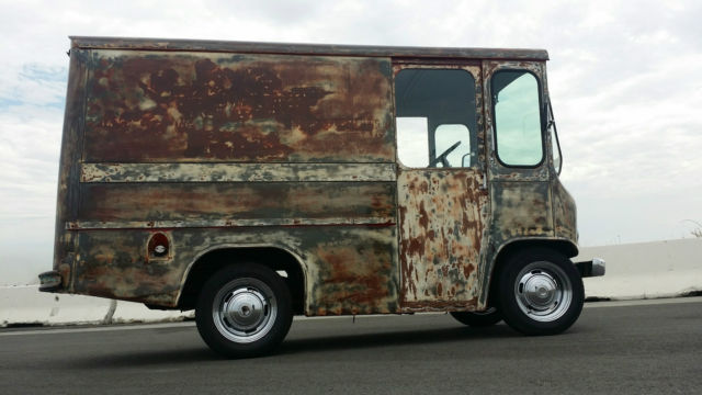 1962 jeep fj3a fleetvan willys patina rat rod mail truck postal van hotrod. Black Bedroom Furniture Sets. Home Design Ideas