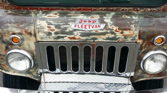 Jeep Willys For Sale >> 1962 Jeep FJ3A FleetVan, Willys, Patina, Rat Rod, Mail Truck, Postal Van, HotRod