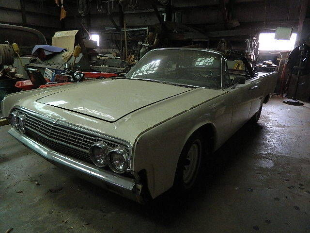 1962 Lincoln Continental Convertible 4 Dr For Sale In Goodview