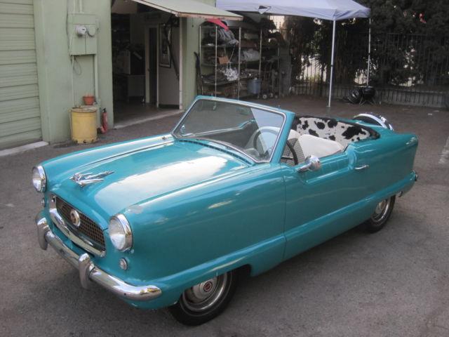 1962 nash metropolitan movie car used by carrot top Wanted Nash Metropolitan