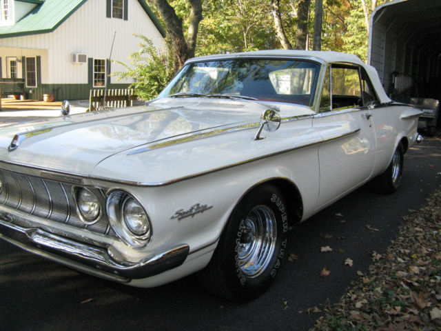 1962 plymouth sport fury convertible very rare restored. Black Bedroom Furniture Sets. Home Design Ideas