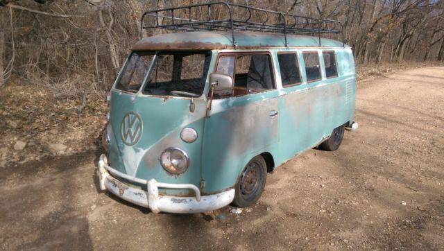 1962 volkswagen bus turn key driver. Black Bedroom Furniture Sets. Home Design Ideas