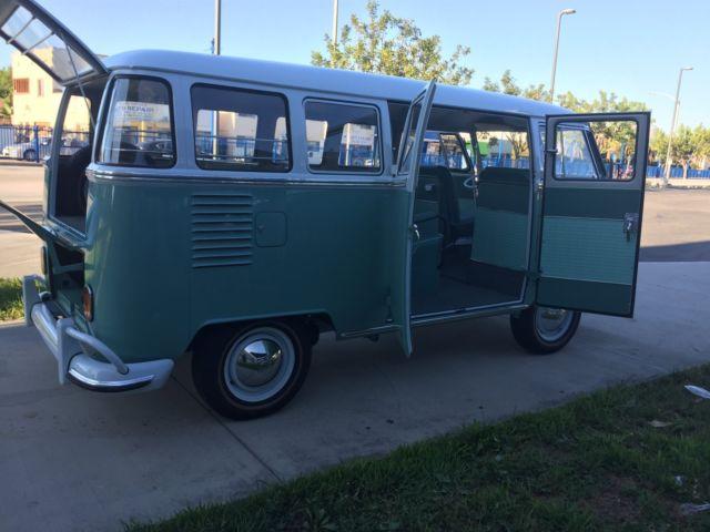 Vw bus 23 autos weblog for 15 window bus for sale