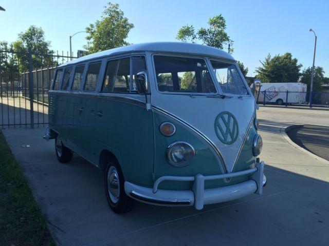 1962 vw bus 15 window for 14 window vw bus