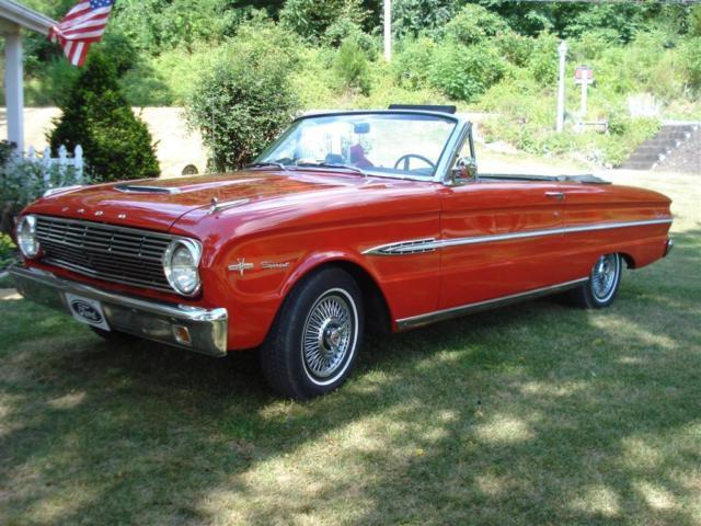 1963-1/2 Ford Falcon Sprint convertible