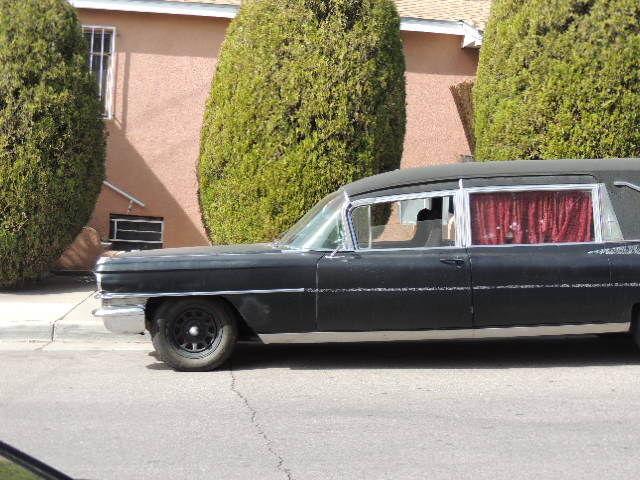 1963 Cadillac M&M Hearse 97k miles 390v8 rat rod ratrod hotrod