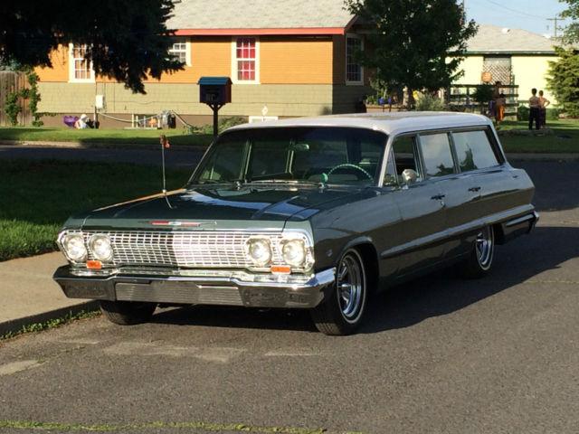 1963 Chevrolet Bel Air Station Wagon Mild Custom
