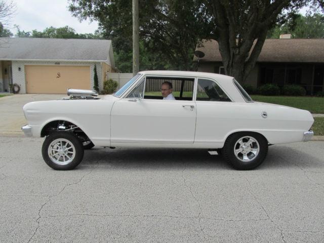 1963 Chevrolet Chevy Ii Nova Gasser Drag Nostalgia Race