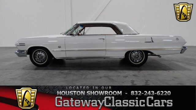 1963 chevrolet impala ss 64320 miles white 2 door 409 cid. Black Bedroom Furniture Sets. Home Design Ideas