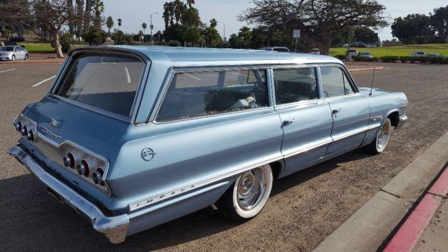 1963 chevrolet impala wagon. Black Bedroom Furniture Sets. Home Design Ideas