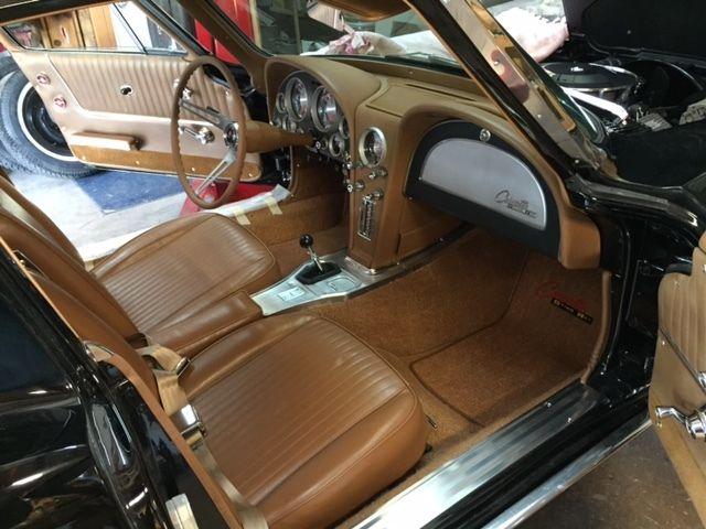 1963 Corvette Coupe Split Window Black On Tan 340hp