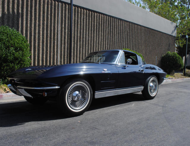 1963 corvette fuel injected split window coupe frame off for 1963 split window coupe corvette