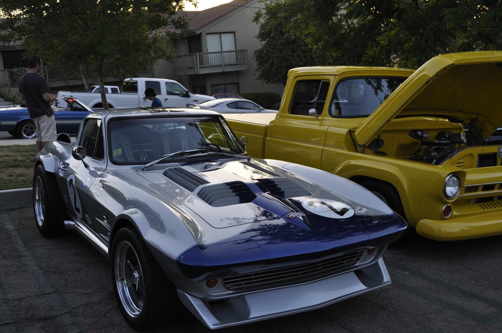 1963 corvette grand sport tribute built from a 1966 sting ray custom restomod. Black Bedroom Furniture Sets. Home Design Ideas