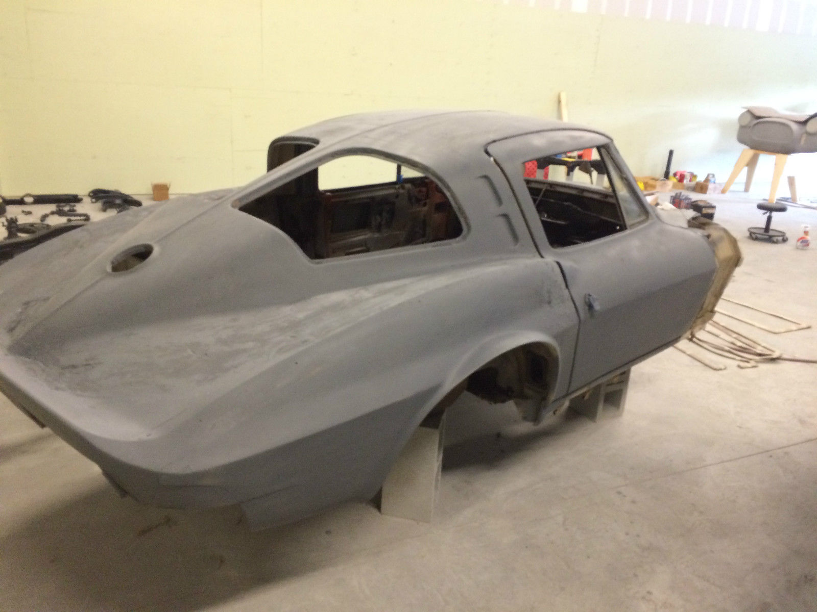 1963 corvette split window c2 project clean title for 1963 split window corvette project for sale