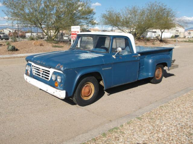 Cars For Sale Tucson >> 1963 D100 all Original Barn find Patina SOLID Arizona truck for sale in Tucson, Arizona, United ...