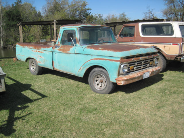 1963 ford f100 pickup 6 cylinder runs drives needs restored or. Cars Review. Best American Auto & Cars Review
