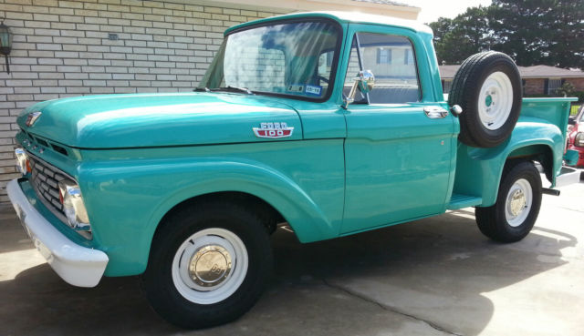 1963 ford f100 step side short bed re listed lower reserve. Black Bedroom Furniture Sets. Home Design Ideas