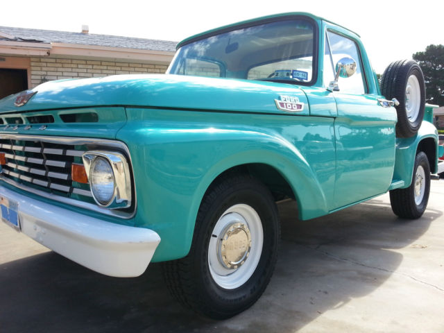 1963 Ford F100 Step Side Short Bed Re Listed Lower Reserve