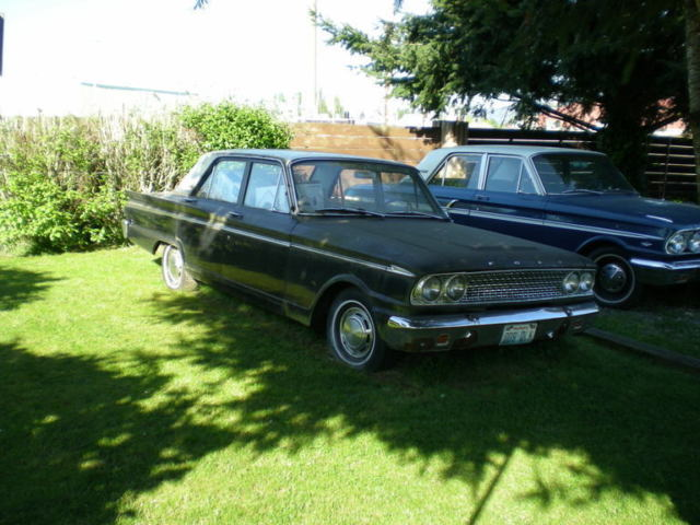 1963 Ford Fairlane Base 2 8L Great Project Car 6 CYL